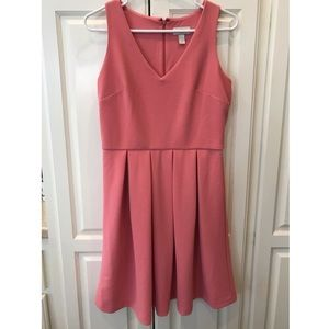 Salmon Sleeveless LOFT Dress Size 6